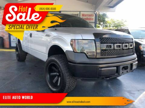 2010 Ford F-150 for sale at ELITE AUTO WORLD in Fort Lauderdale FL