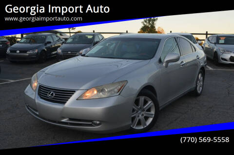 2007 Lexus ES 350 for sale at Georgia Import Auto in Alpharetta GA