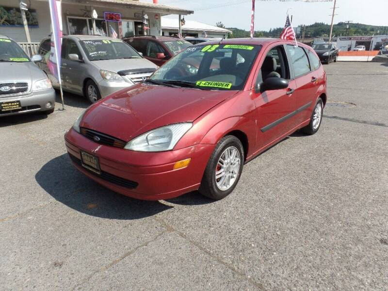 2003 Ford Focus for sale at Gold Key Motors in Centralia WA