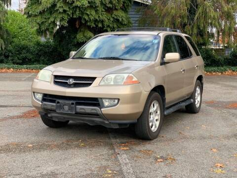 2002 Acura MDX for sale at Q Motors in Lakewood WA