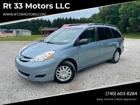 2009 Toyota Sienna for sale at Rt 33 Motors LLC in Rockbridge OH