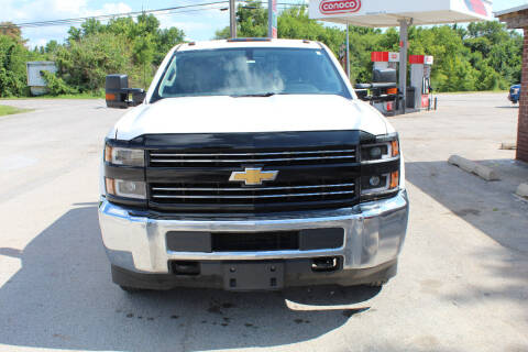 2018 Chevrolet Silverado 3500HD CC for sale at CANTWEIGHT CLASSICS in Maysville OK