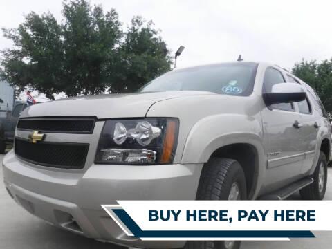 2008 Chevrolet Tahoe for sale at GRG Auto Plex in Houston TX