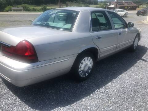 2003 Mercury Grand Marquis for sale at CESSNA MOTORS INC in Bedford PA
