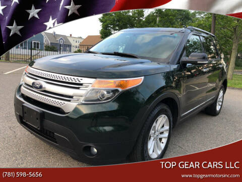 2013 Ford Explorer for sale at Top Gear Cars LLC in Lynn MA