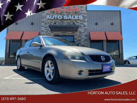 2006 Nissan Altima for sale at HORTON AUTO SALES, LLC in Linn MO
