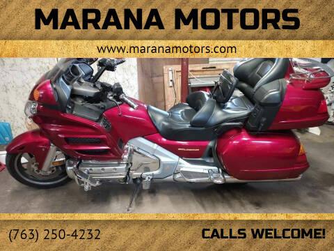 2003 Honda Goldwing for sale at Marana Motors in Princeton MN
