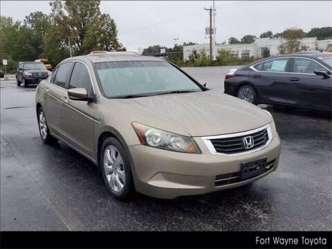 2008 Honda Accord for sale at BOB ROHRMAN FORT WAYNE TOYOTA in Fort Wayne IN