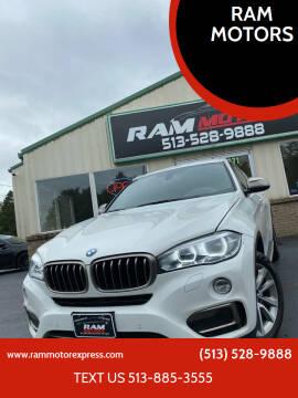 2017 BMW X6 for sale at RAM MOTORS in Cincinnati OH