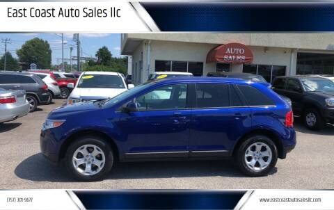 2013 Ford Edge for sale at East Coast Auto Sales llc in Virginia Beach VA