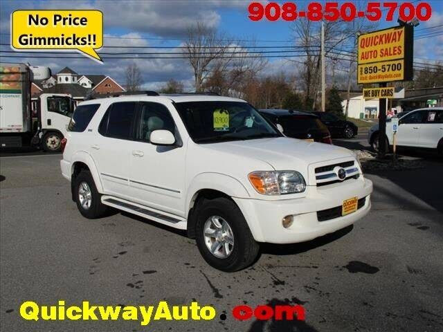 2006 Toyota Sequoia for sale at Quickway Auto Sales in Hackettstown NJ