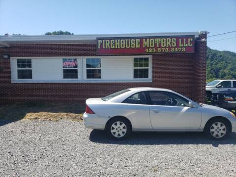 2002 Honda Civic for sale at Firehouse Motors LLC in Bristol TN
