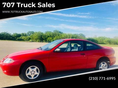 2003 Chevrolet Cavalier for sale at 707 Truck Sales in San Antonio TX