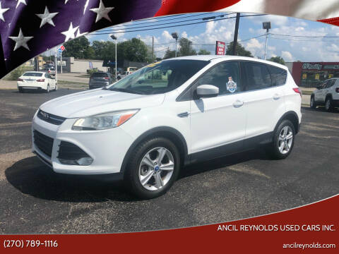 2013 Ford Escape for sale at Ancil Reynolds Used Cars Inc. in Campbellsville KY