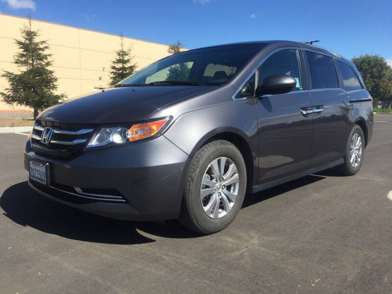 2017 Honda Odyssey for sale at 707 Motors in Fairfield CA