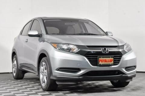 2018 Honda HR-V for sale at Washington Auto Credit in Puyallup WA