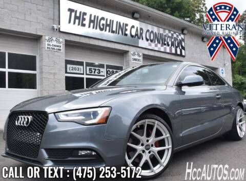 2014 Audi A5 for sale at The Highline Car Connection in Waterbury CT