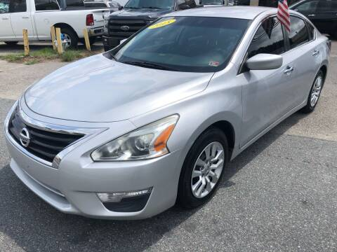 2015 Nissan Altima for sale at Mega Autosports in Chesapeake VA