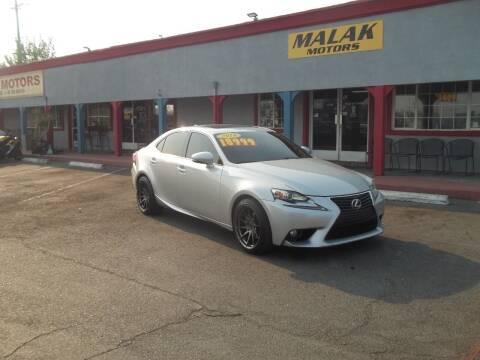 2014 Lexus IS 250 for sale at Atayas Motors INC #1 in Sacramento CA
