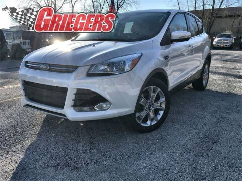 2013 Ford Escape for sale at GRIEGER'S MOTOR SALES CHRYSLER DODGE JEEP RAM in Valparaiso IN
