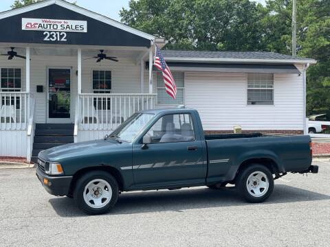 1994 Toyota Pickup for sale at CVC AUTO SALES in Durham NC