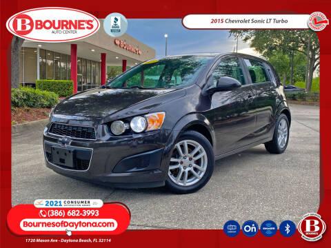 2015 Chevrolet Sonic for sale at Bourne's Auto Center in Daytona Beach FL