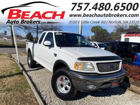2002 Ford F-150 for sale at Beach Auto Brokers in Norfolk VA