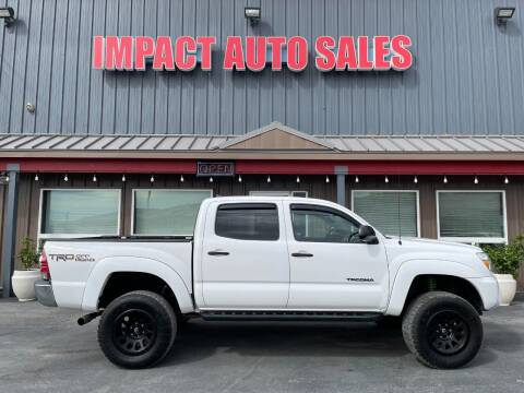 2014 Toyota Tacoma for sale at Impact Auto Sales in Wenatchee WA