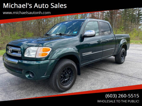 2004 Toyota Tundra for sale at Michael's Auto Sales in Derry NH