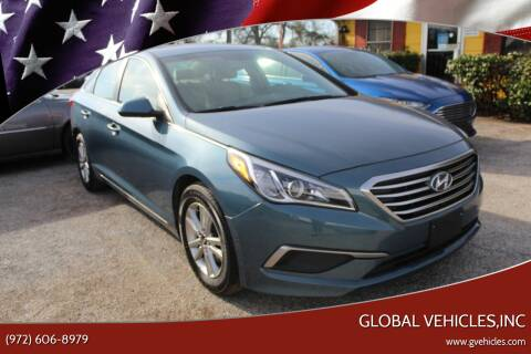 2017 Hyundai Sonata for sale at Global Vehicles,Inc in Irving TX