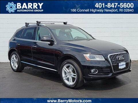 2017 Audi Q5 for sale at BARRYS Auto Group Inc in Newport RI