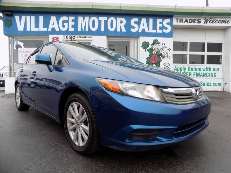 2012 Honda Civic for sale at Village Motor Sales in Buffalo NY