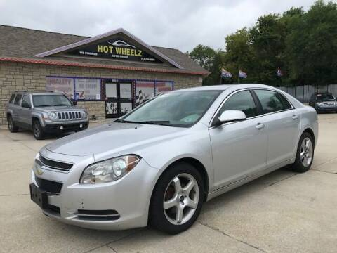 2010 Chevrolet Malibu for sale at HotWheelz Auto Group in Detroit MI