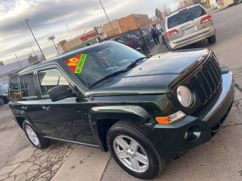 2010 Jeep Patriot for sale at Sanaa Auto Sales LLC in Denver CO