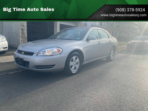 2008 Chevrolet Impala for sale at Big Time Auto Sales in Vauxhall NJ