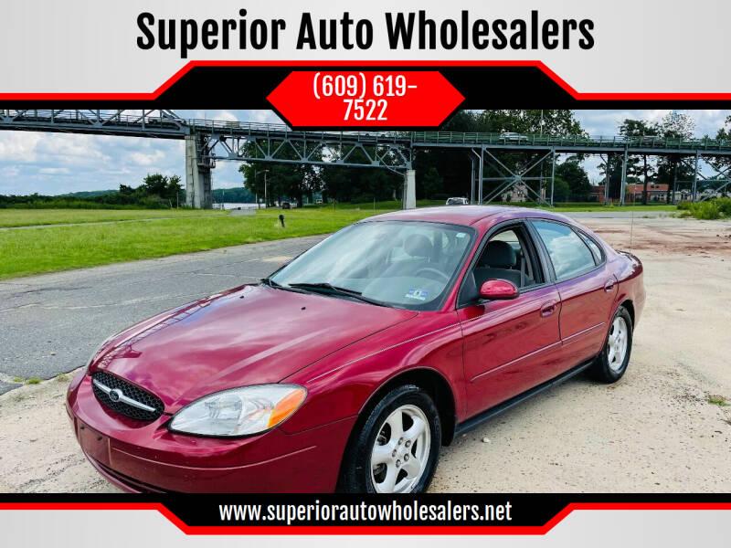 2003 Ford Taurus for sale at Superior Auto Wholesalers in Burlington NJ