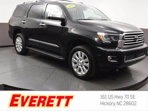 2018 Toyota Sequoia for sale at Everett Chevrolet Buick GMC in Hickory NC