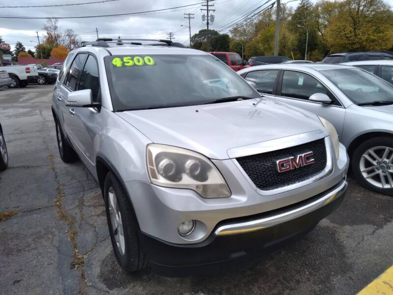 2010 GMC Acadia for sale at D & D All American Auto Sales in Mt Clemens MI
