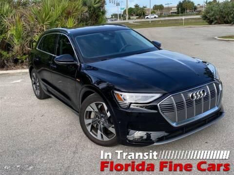 2021 Audi e-tron for sale at Florida Fine Cars - West Palm Beach in West Palm Beach FL