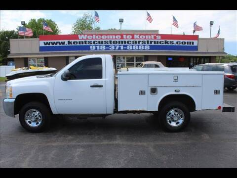 2010 Chevrolet Silverado 2500HD for sale at Kents Custom Cars and Trucks in Collinsville OK