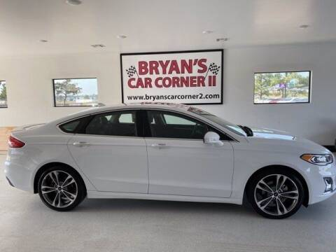 2019 Ford Fusion for sale at Bryans Car Corner in Chickasha OK