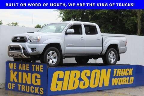 2012 Toyota Tacoma for sale at Gibson Truck World in Sanford FL