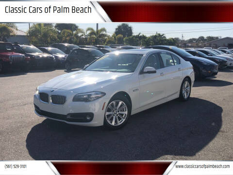 2015 BMW 5 Series for sale at Classic Cars of Palm Beach in Jupiter FL