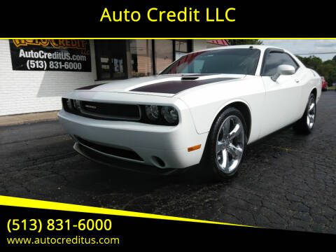 2014 Dodge Challenger for sale at Auto Credit LLC in Milford OH