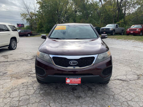 2012 Kia Sorento for sale at Community Auto Brokers in Crown Point IN