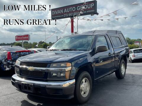 2007 Chevrolet Colorado for sale at Divan Auto Group in Feasterville Trevose PA