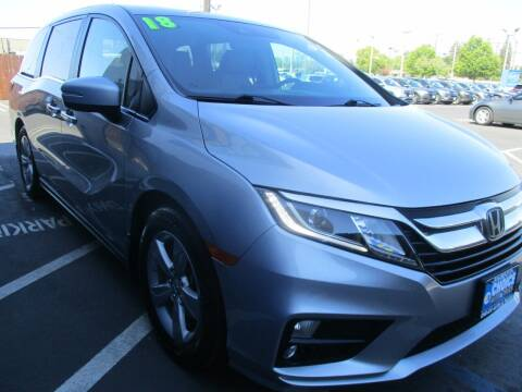 2018 Honda Odyssey for sale at Choice Auto & Truck in Sacramento CA