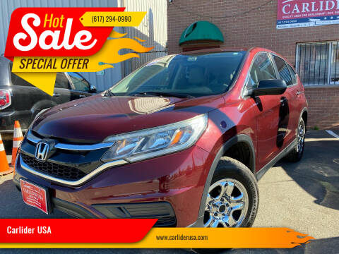 2015 Honda CR-V for sale at Carlider USA in Everett MA