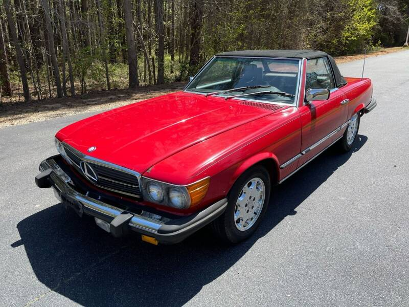 1985 Mercedes-Benz 380-Class for sale at Import Performance Sales in Raleigh NC