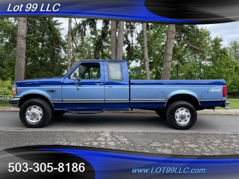1996 Ford F-250 for sale at LOT 99 LLC in Milwaukie OR